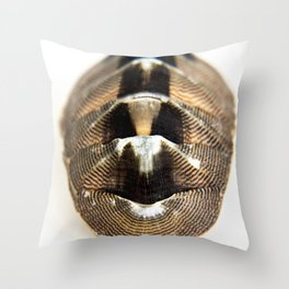 lines and blemistes Throw Pillow