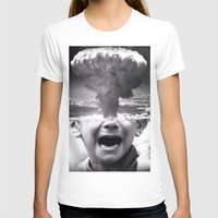 war T-shirts featuring War by Cash Mattock
