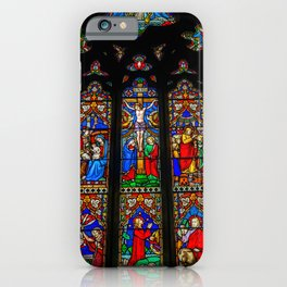 INRI Stained Glass iPhone Case