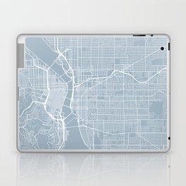 Portland Map, USA - Slate Laptop & iPad Skin