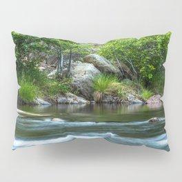 Photos California USA Kern River Nature stone Rivers river Stones Pillow Sham