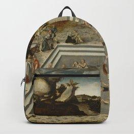Lucas Cranach Der Jungbrunnen Fountain Of Youth Backpack