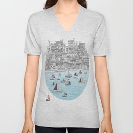 Joppa City of Refuge Unisex V-Neck