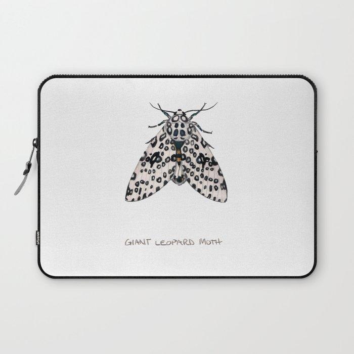 Giant Leoprd Moth Laptop Sleeve