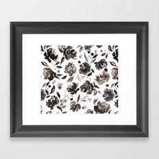 Winter blossom Framed Art Print