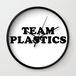 TEAM PLASTICS Wall Clock