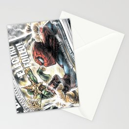 Spider-Man vs Electro Stationery Cards