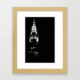 Chrysler Building In New York City Framed Art Print