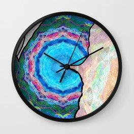 Butterfly Half Wall Clock