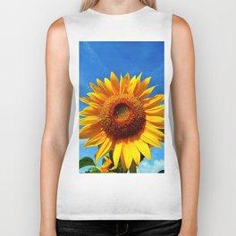 Stunning Sunflower Biker Tank