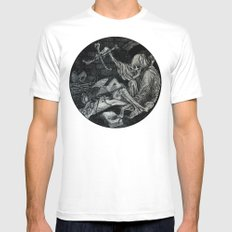 Puppeteer White SMALL Mens Fitted Tee
