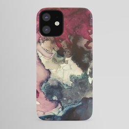 Dark Inks - Alcohol Ink Painting iPhone Case