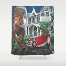 Spark of Life Shower Curtain