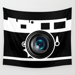 Camera Lens Wall Tapestry
