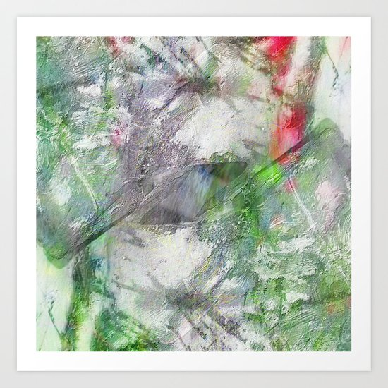 Texture abstract 2017 001 Art Print