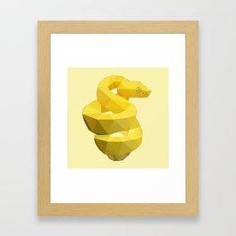 Viper Snake. Framed Art Print