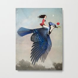 Time to Fly Metal Print