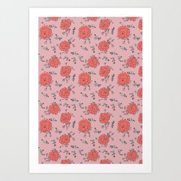Tulipink Art Print