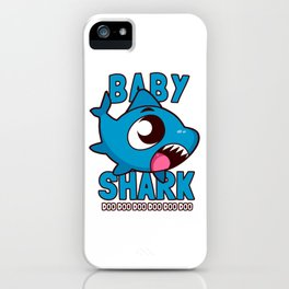 Baby Shark Doo Doo Doo Kids iPhone Case