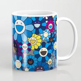mukarami flowers blue thema Coffee Mug