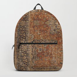 Antique Persian Rug Backpack