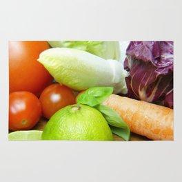 Fresh Vegetables - Restaurant or Kitchen Decor Rug