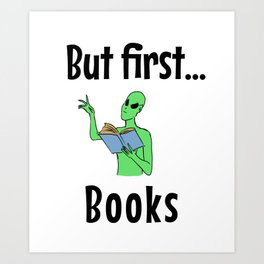 But first books Art Print