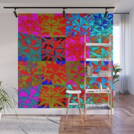 multiple suns multiple colors 4 Wall Mural