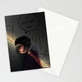 lightly does it Stationery Cards