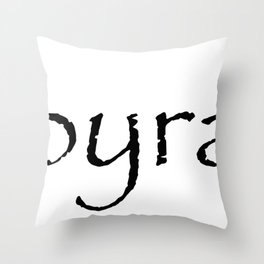 Papyrass Throw Pillow