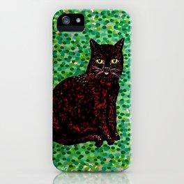 An Cat Dubh iPhone Case