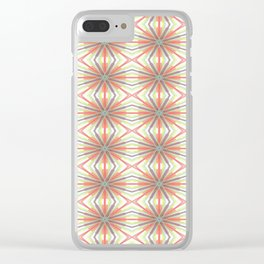 Pizzazz Clear iPhone Case
