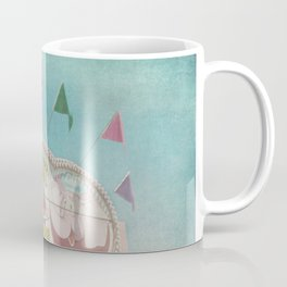 Elephant Ears Funnel Cakes Carnival Fair Whimsical Foodie Pastel Home Decor Art Coffee Mug