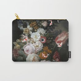 """Still Life with Koi""""s Carry-All Pouch"""