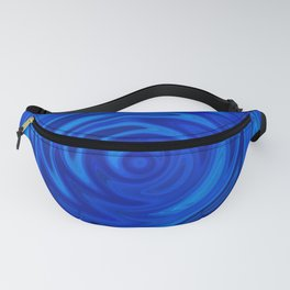 Water Moon Cobalt Swirl Fanny Pack