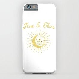 Rise & Shine iPhone Case