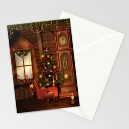 Old Christmas Room Stationery Cards