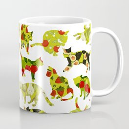 Kitchen Cats Coffee Mug