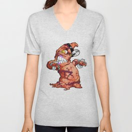 The Angry Appendix Unisex V-Neck