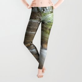 Winter stream Leggings