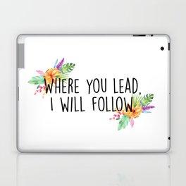 Gilmore Girls - Where you lead Laptop & iPad Skin