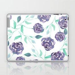 Purple Rose Bush Laptop & iPad Skin