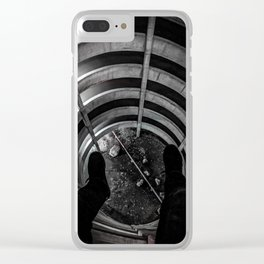 Dont Jump Clear iPhone Case
