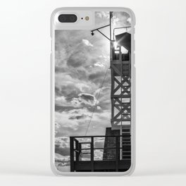 Leuty Lifeguard Station - The Beaches - Toronto Clear iPhone Case