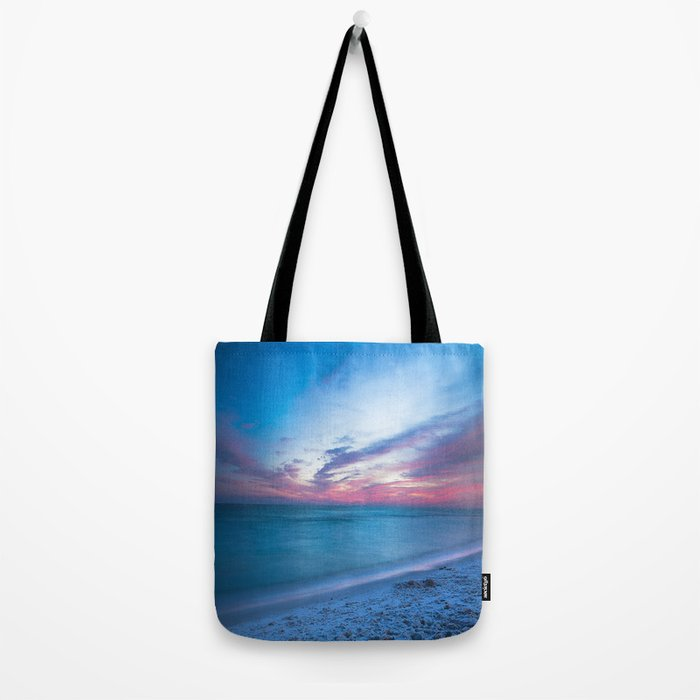 If By Sea - Sunset and Emerald Waters Near Destin Florida Tote Bag