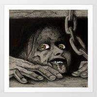 evil dead Art Prints featuring Evil Dead by Jamile B. Johnson