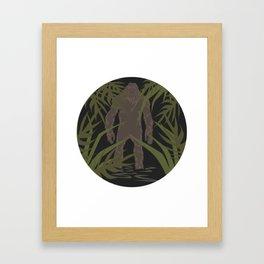 Skunk Ape Framed Art Print