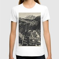 sweden T-shirts featuring GSTAAD SWEDEN by Kathead Tarot/David Rivera