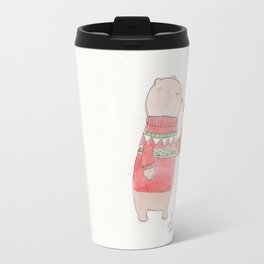 Bear and Robin Travel Mug