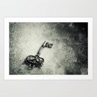 key Art Prints featuring key by Ruby Del Angel